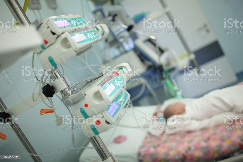 Kind auf der Intensivstation – Foto