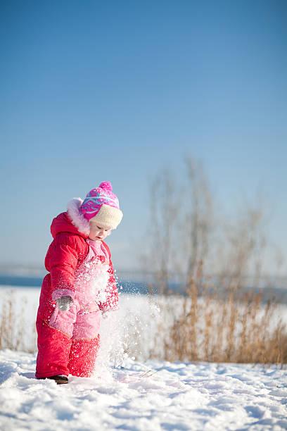Kind im winter – Foto