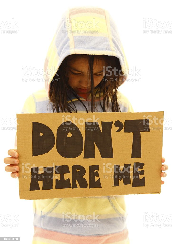 Child Labor royalty-free stock photo