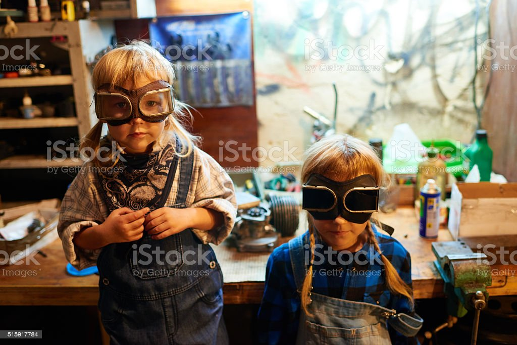 Child labor stock photo
