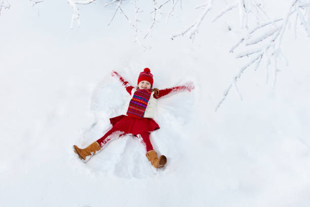 Child making snow angel kids winter outdoor fun picture id1061049468?b=1&k=6&m=1061049468&s=612x612&w=0&h=4d9zaykd94mynwuvrenvh j6u0miqxpq b0o4w6co6c=