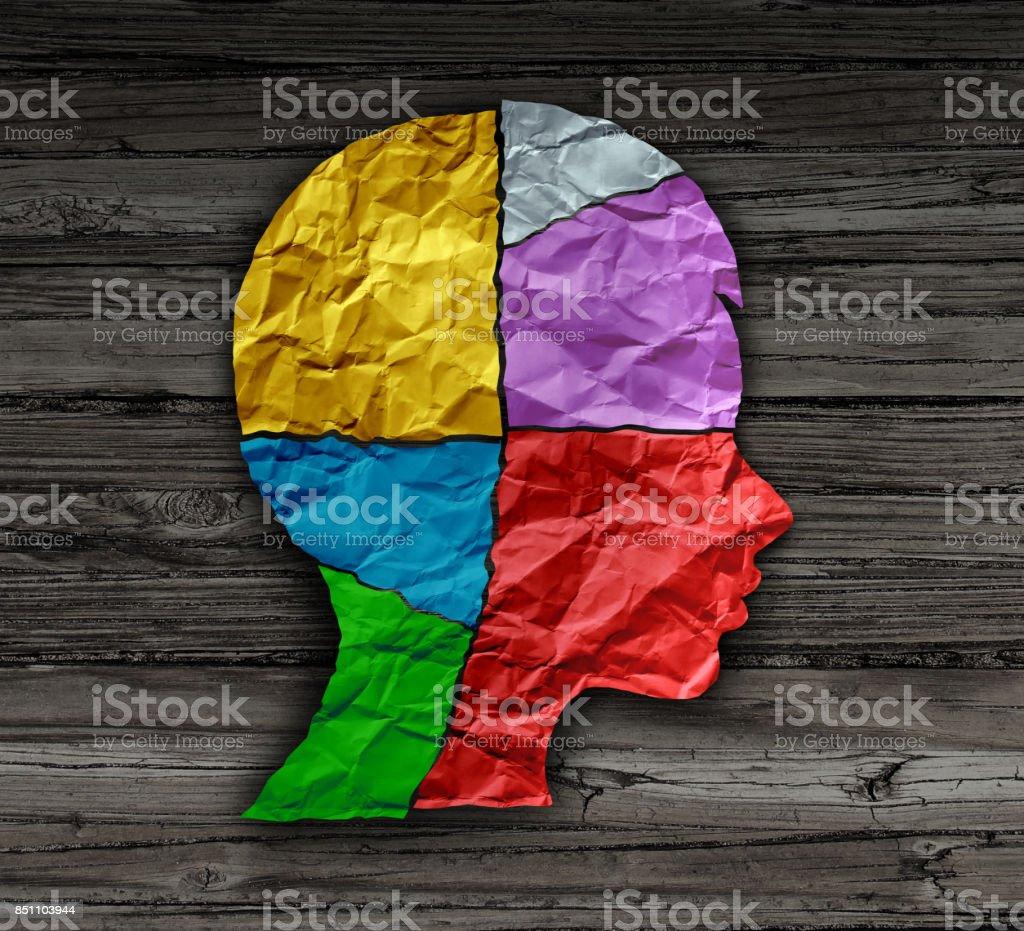 Child Mood Psychology stock photo