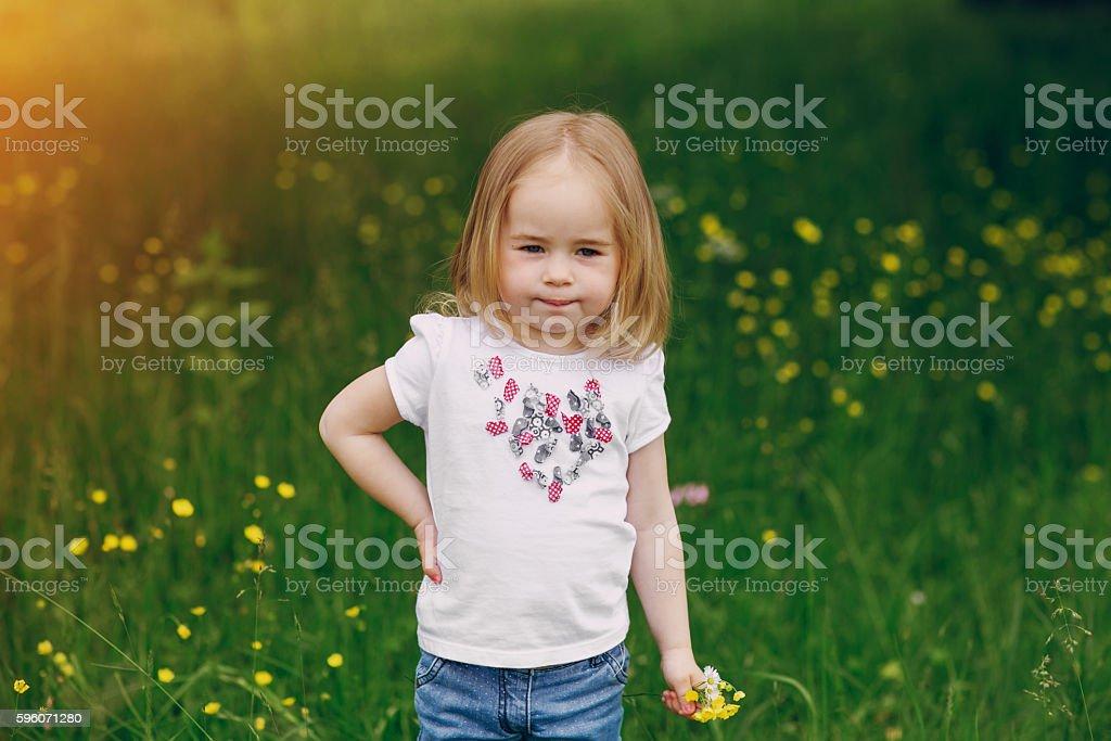 child near tree royalty-free stock photo