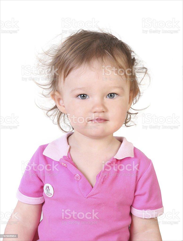 child nice portrait stock photo