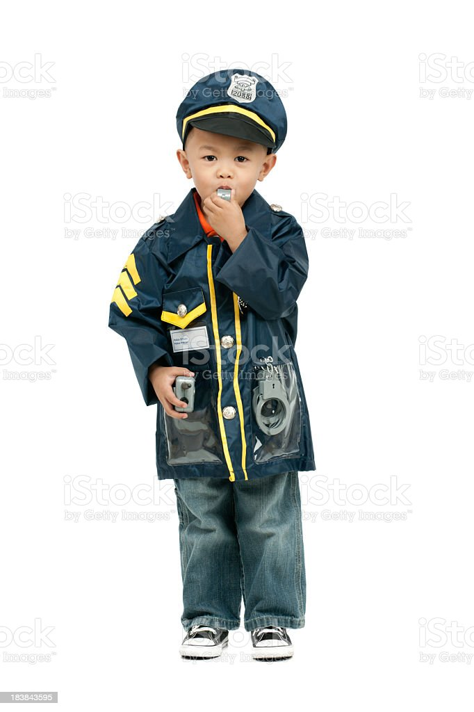 Child occupations royalty-free stock photo