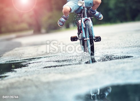istock child on a bicycle 545126744