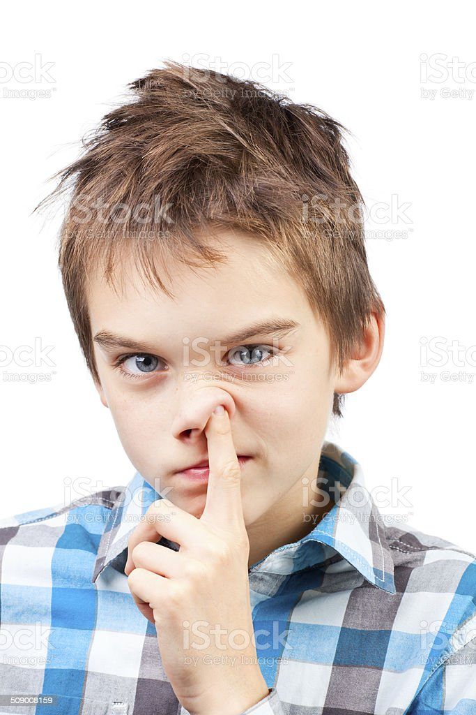 Child Picking Nose Stock Photo Download Image Now Istock