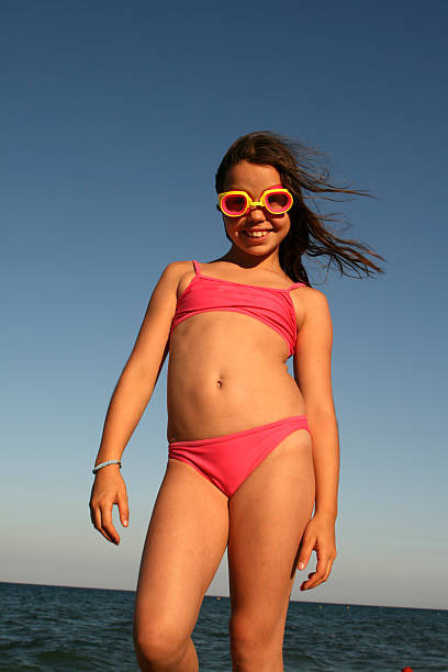 child - tween models stock photos and pictures