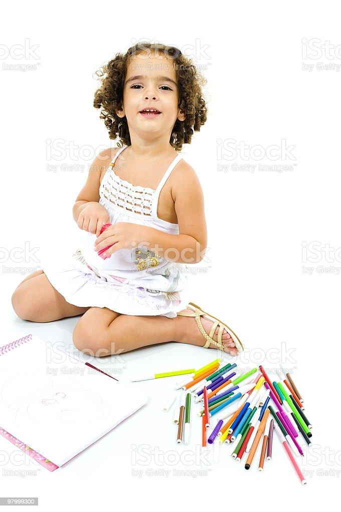 Para criança foto royalty-free