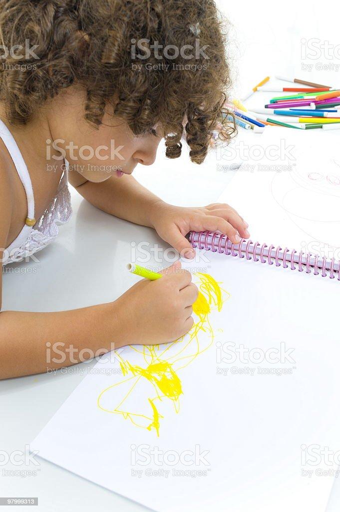 Child royalty free stockfoto