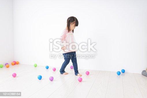 istock Child playing alone 1014288154
