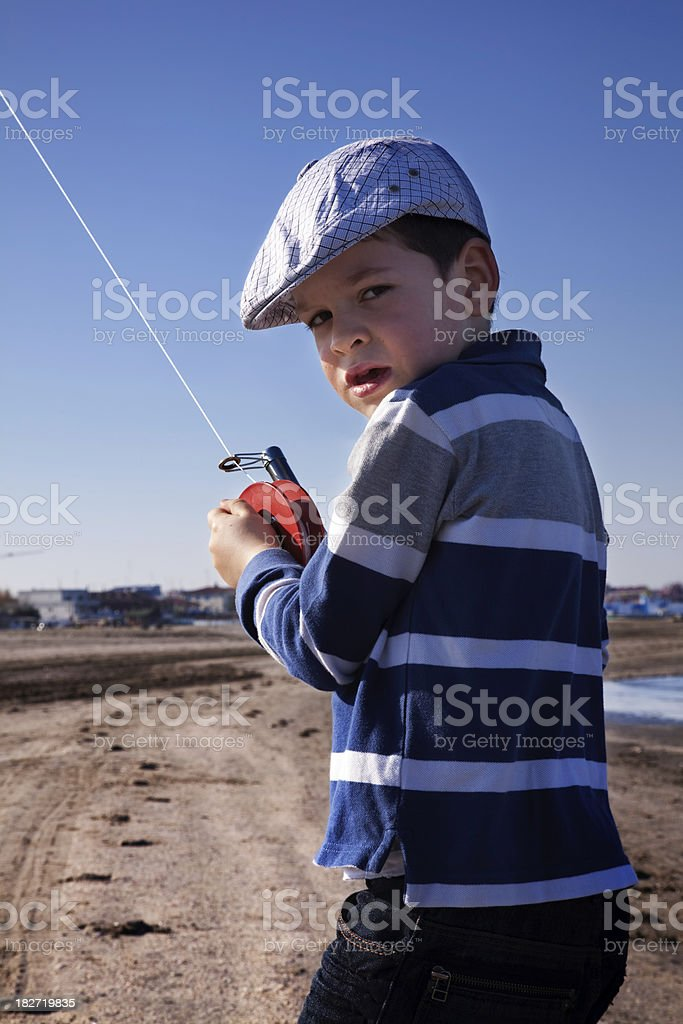 child playing stock photo