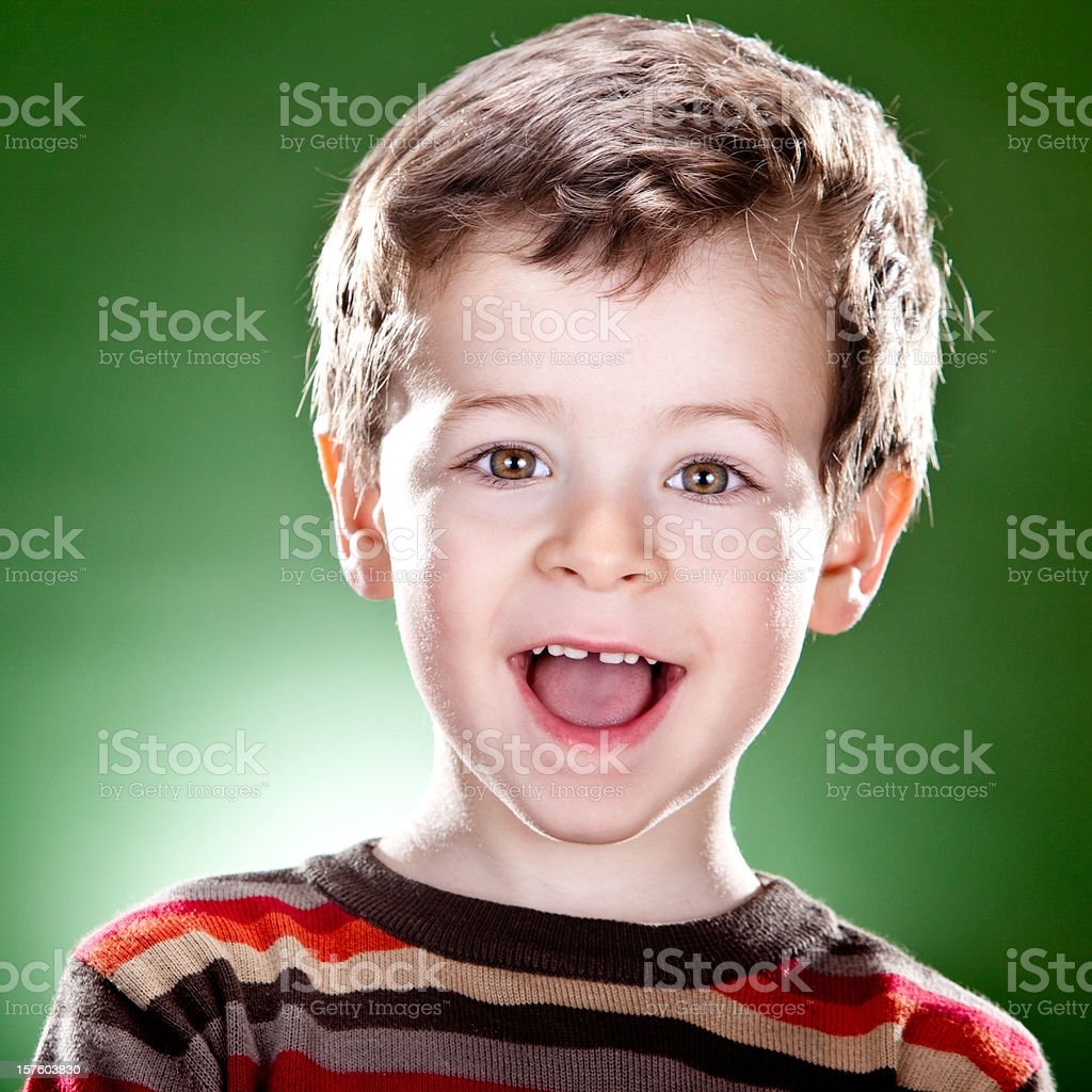child portrait on colored background royalty-free stock photo