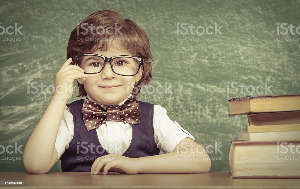 Child portrait stock photo