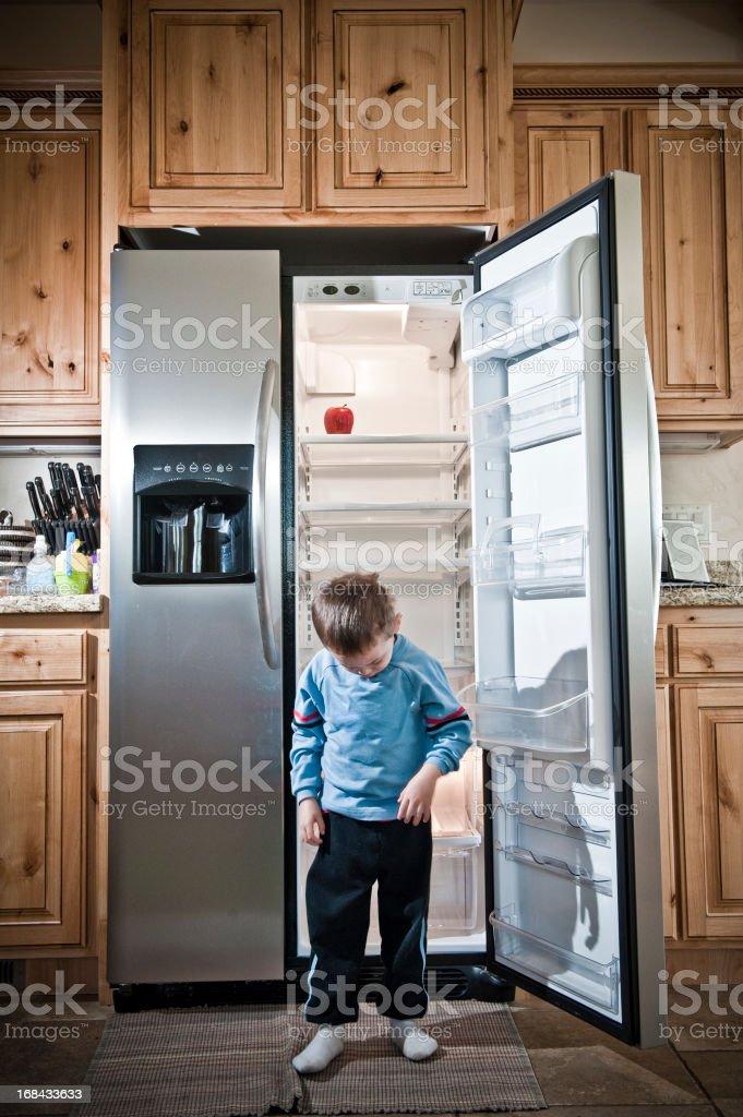 Child Poverty Concept stock photo