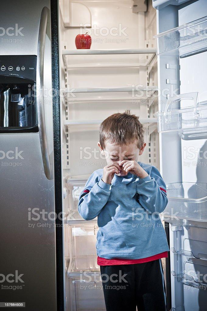 Child Poverty stock photo
