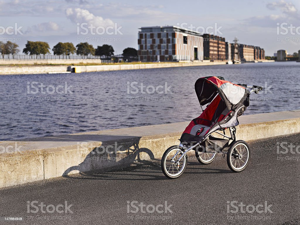 Child pram royalty-free stock photo