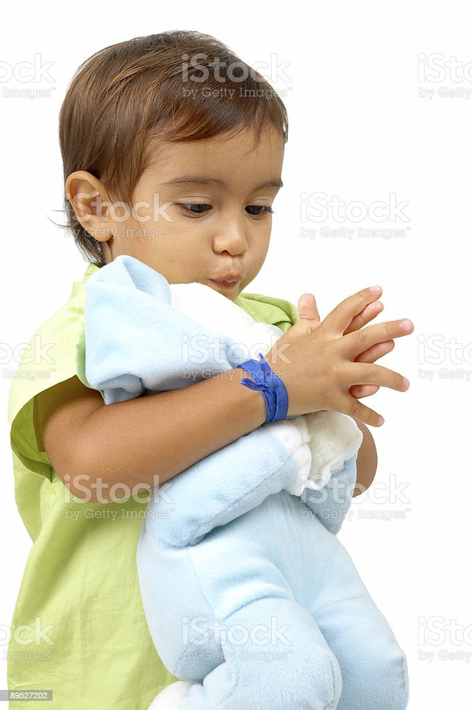 Child Praying royalty-free stock photo