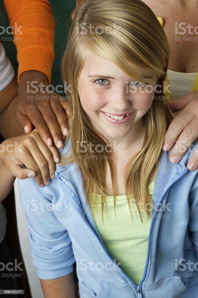 Child Protection stock photo