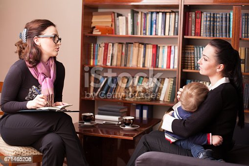 istock child psychologist the mother with child 671465208