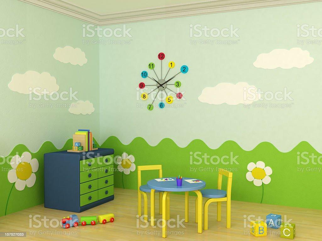 Child Room stock photo