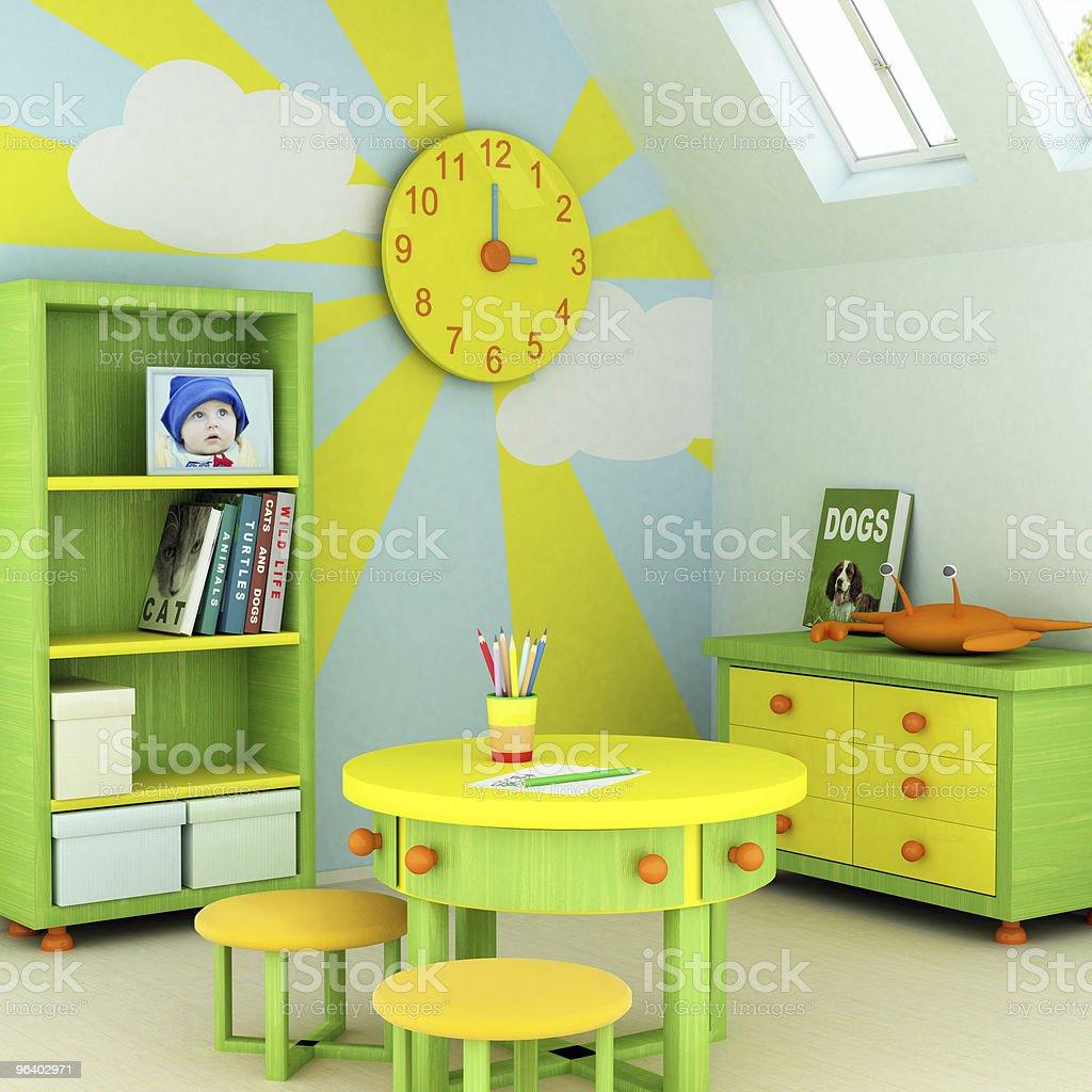 Child room royalty-free stock photo