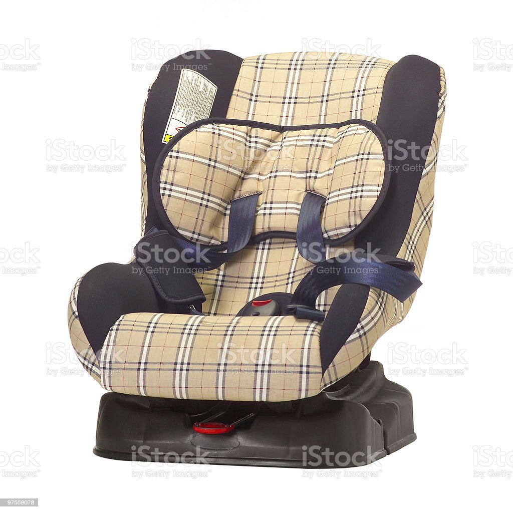 Child safety seat royalty-free stock photo