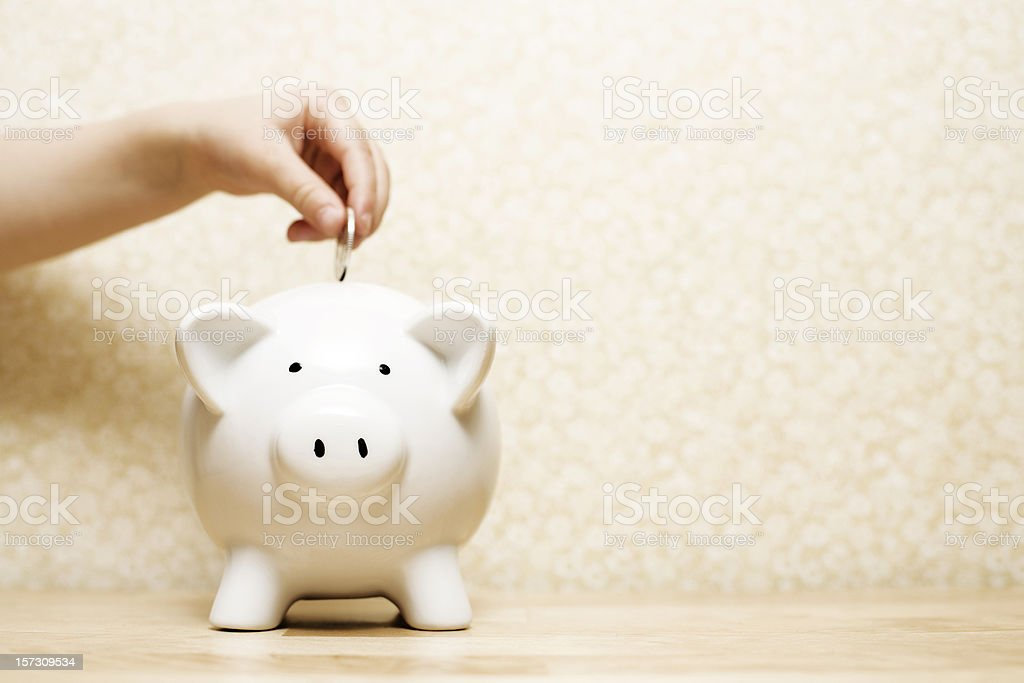 Child saving stock photo