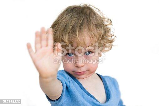 istock Child saying no 537388320