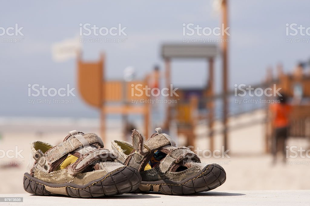 Child shoes royalty-free stock photo