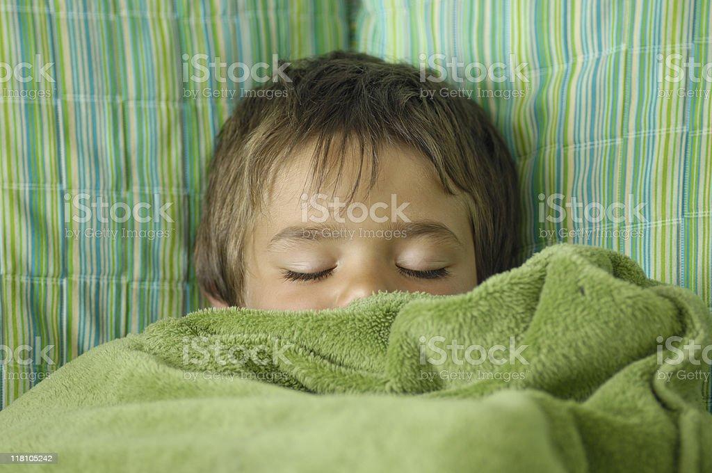 Child sleeping  2-3 Years Stock Photo