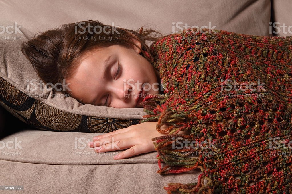 Child Sleeping royalty-free stock photo