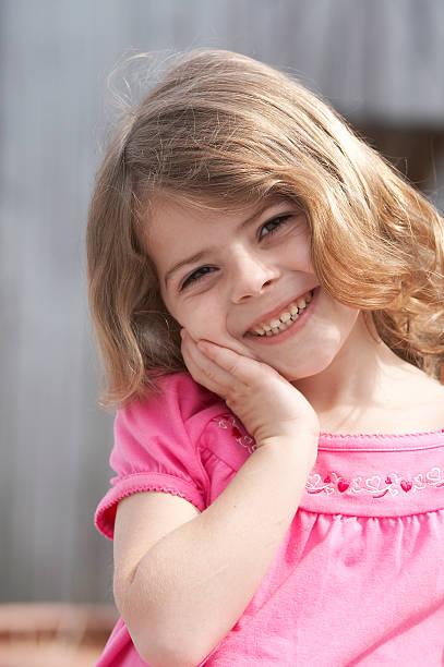 Kind Lächeln – Foto