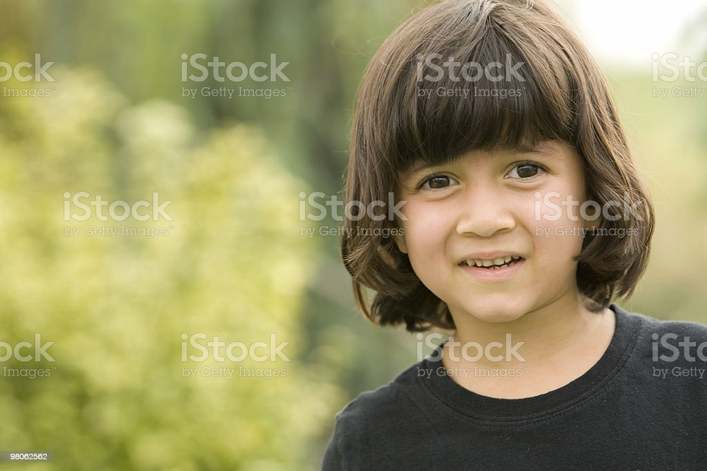 Child Staring royalty-free stock photo