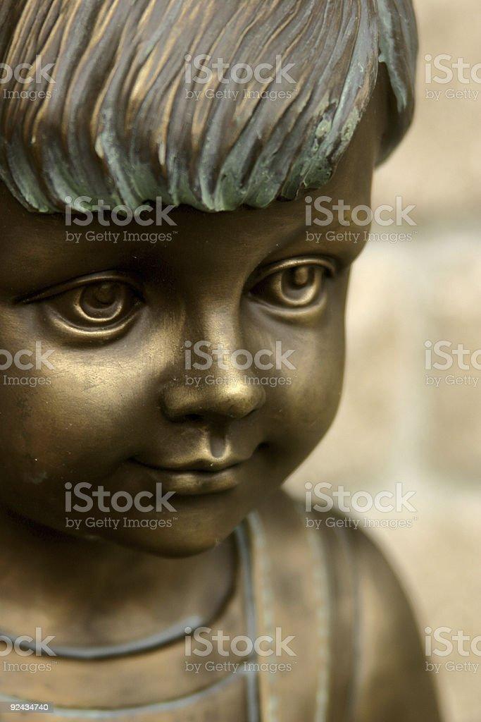 Child Statue royalty-free stock photo