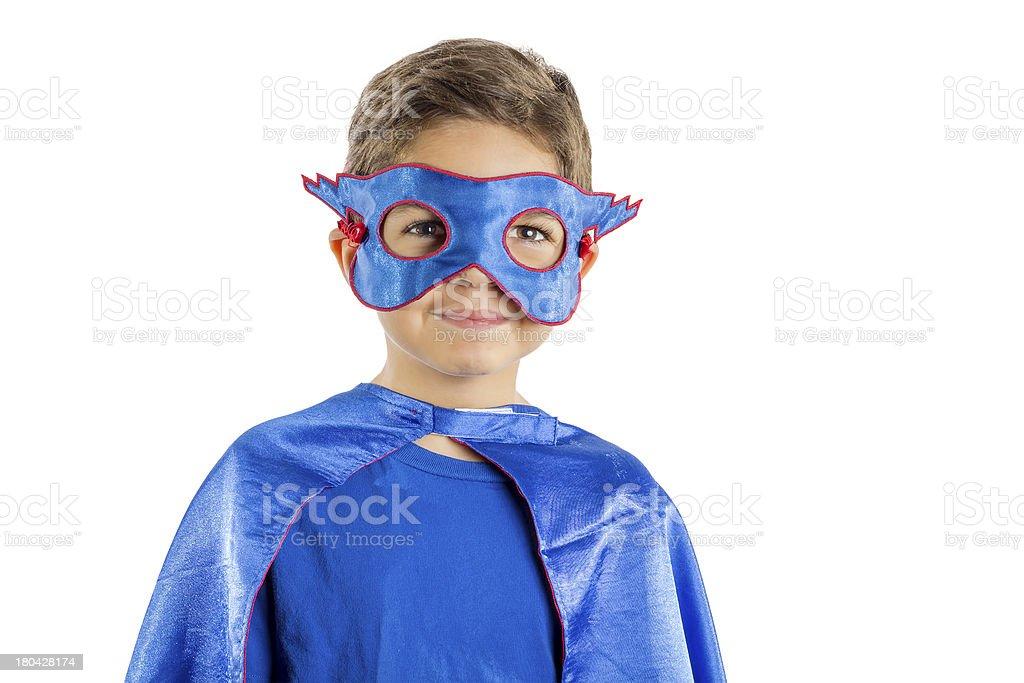 Child Superhero royalty-free stock photo
