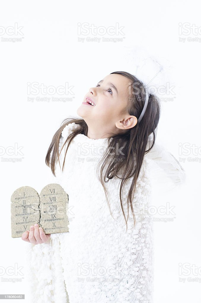 Child wish stock photo
