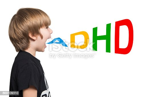 istock Child With ADHD 869109310