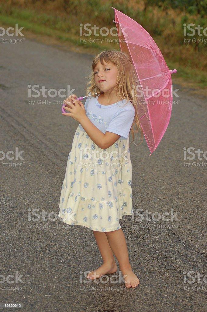 Child with an Atitude royaltyfri bildbanksbilder