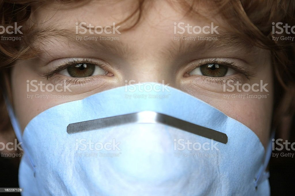 masque protection virus enfant