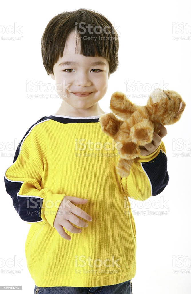 child with toy royalty-free stock photo