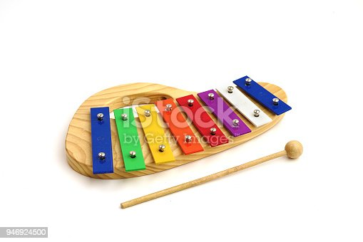 istock child xylophone on white background 946924500