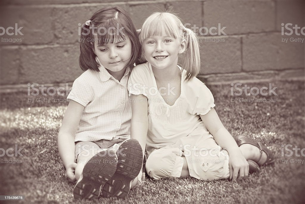 Childhood Freinds royalty-free stock photo