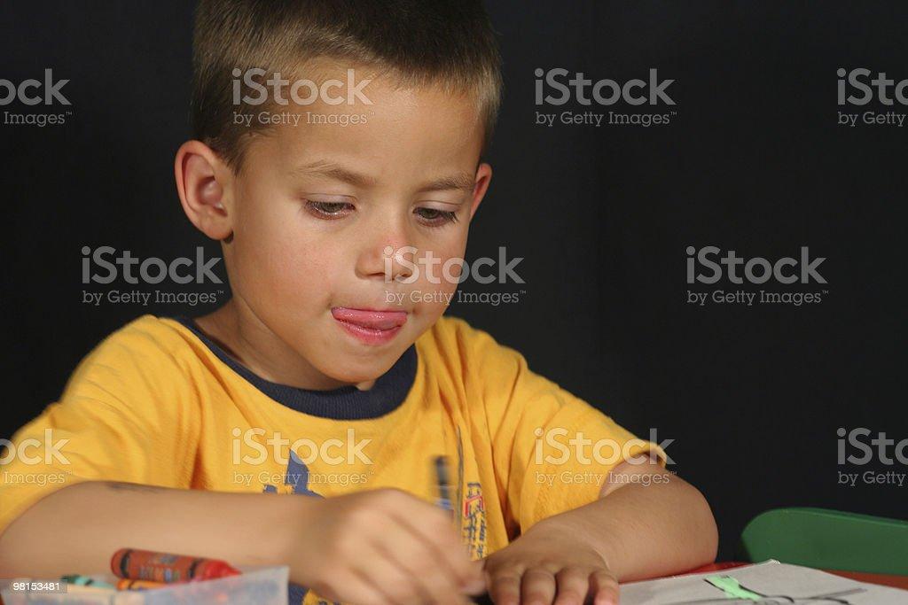 Childhood fun royalty-free stock photo
