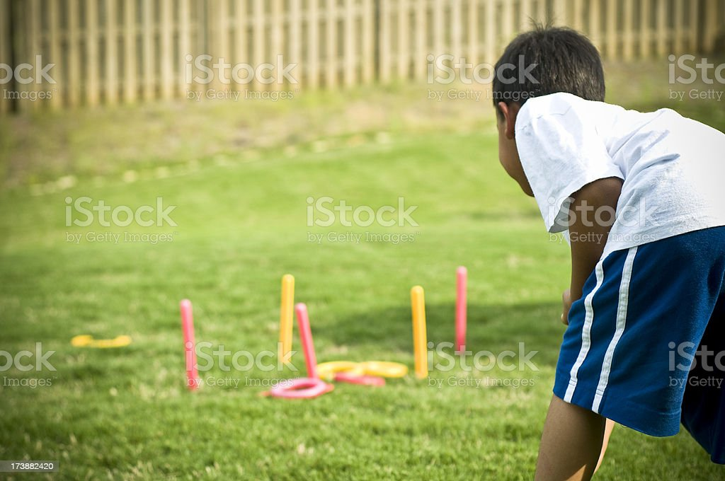 childhood games royalty-free stock photo