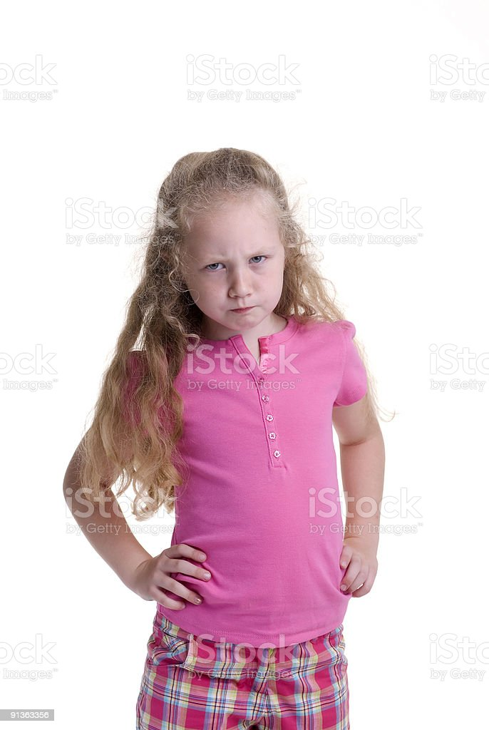 Childhood Girl royalty-free stock photo