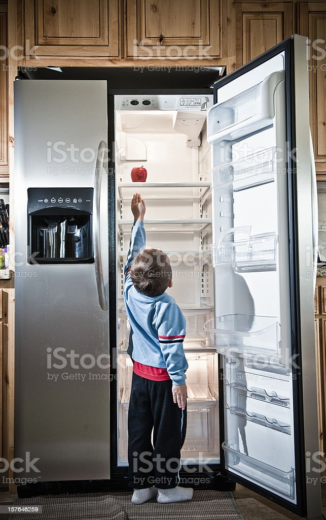 Childhood Hunger royalty-free stock photo