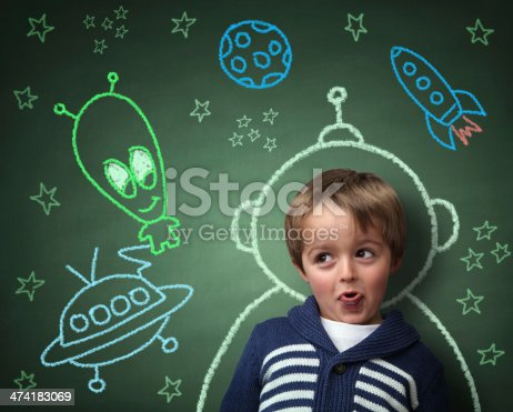 istock Childhood imagination and dreams 474183069
