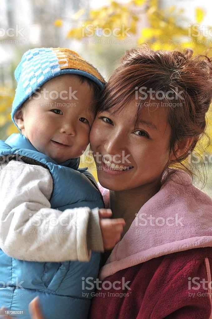 Childhood love royalty-free stock photo