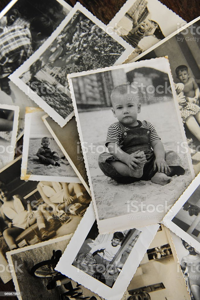 Childhood memories stock photo